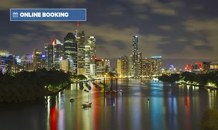 Brisbane: 1-3 Nights for Two, Three or Four People with Late Check-Out at Econo Lodge City Star Brisbane