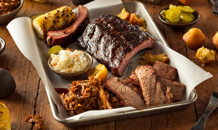 Barbecue Platter for Two or Four at Florins Bar