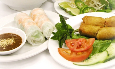 $11 for $20 Worth of Vietnamese and Southeast Asian Cuisine a Pho D'lite