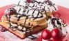 Waffle, Pancake or Crêpe £7