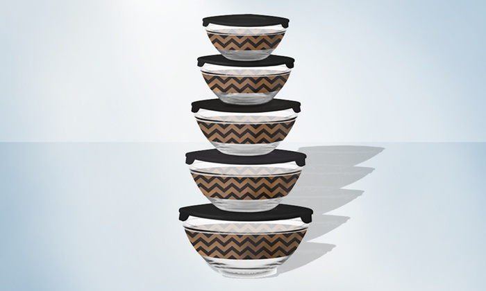 5-Piece Glass Mixing Bowl Set: $8.99 for a 5-Piece Glass Mixing Bowl Set ($19.99 List Price). Free Returns.