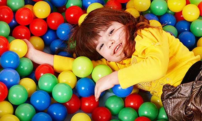 Lil' Monkeys Indoor Playgrounds Inc. - Burlington: Family Play Package or Birthday Party at Lil' Monkeys Indoor Playgrounds Inc. (Up to 70% Off)