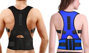 Unisex Adjustable Posture and Back Support Belt