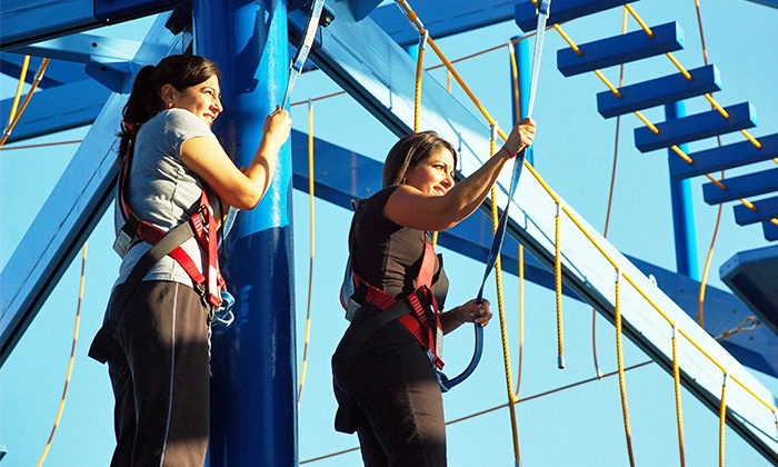 MOSI - Temple Terrace: Admission to Ropes Course and Zipline for One or Two at MOSI (40% Off)
