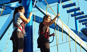 MOSI: Admission to Ropes Course and Zipline for One or Two at MOSI (40% Off)