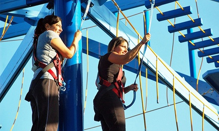 Admission to Ropes Course and Zipline for One or Two at MOSI (40% Off)
