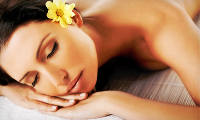 The Woodhouse Day Spa - Red Bank: $195 for a Spa Package with Massage, Facial, Eye Treatment, and Pedicure at The Woodhouse Day Spa ($420 Value)