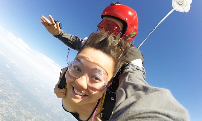 Skydive Collegeville - Skippack: Tandem Skydive for One or Two at Skydive Collegeville (Up to 50% Off)
