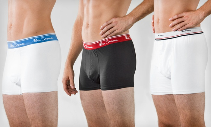 2-Pack of Ben Sherman Men's Boxers or Trunks: $16.99 for a 2-Pack of Ben Sherman Men's Boxers or Trunks in Black or White ($40 List Price). Free Shipping.