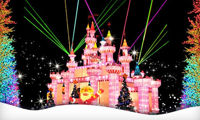 Global Winter Wonderland - Sacramento - Santa Clara: Admission and Unlimited Rides for One or Four at Global Winter Wonderland (Up to 40% Off)