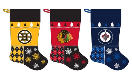 NHL Oversized Christmas Stocking