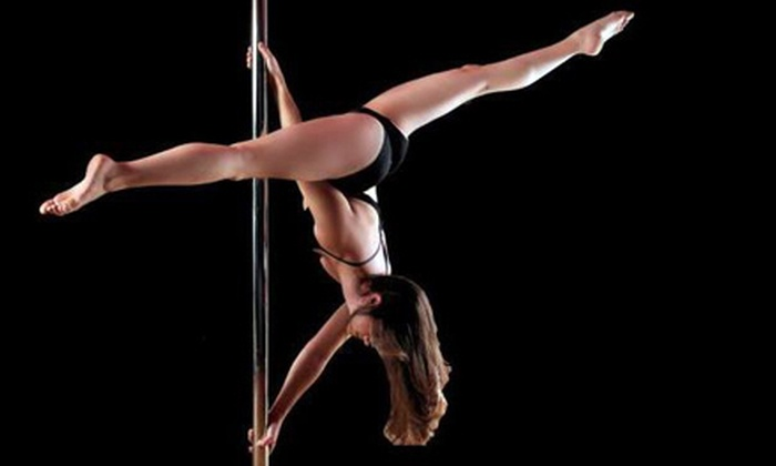 Allure Dance Studio - Multiple Locations: Four or Eight Pole-Dancing or Aerial-Yoga Classes at Allure Dance Studio (Up to 76% Off)