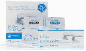 1-,3-, Or 10-day Great Smile Store Smile Pack Whitening System