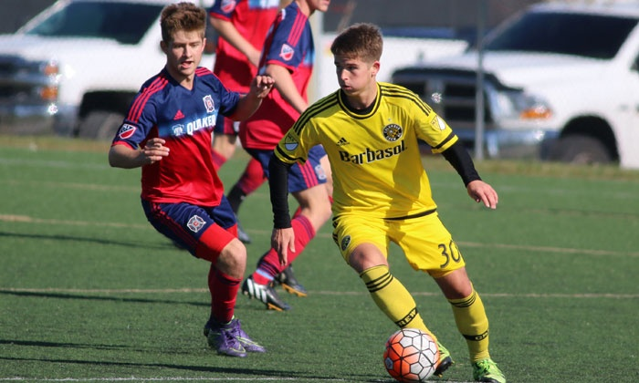 Columbus Crew SC - Local Camps - Multiple Locations: $79 for a Columbus Crew SC Matchday Experience or $425 for a Five-Day Pro & College Prep Residential Soccer Camp