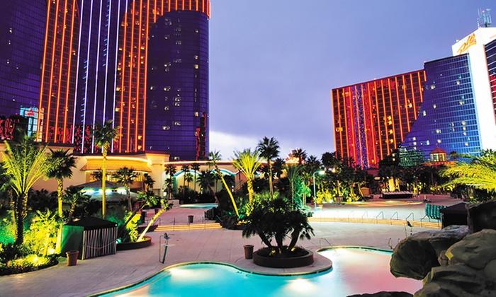 All-Suite 4-Star Vegas Casino Hotel w/ Buffet Passes