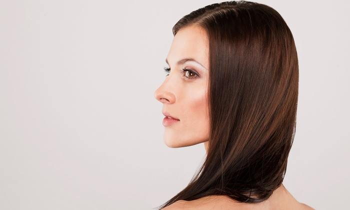 Hair by Russell - Alamo Heights: One Brazilian Blowout fromHair by Russell located inside Versi Salon and Spa (67% Off)