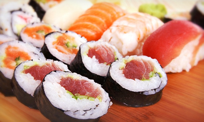 Mino Japanese Restaurant & Sushi Bar - East Whiteland: Sushi and Japanese Cuisine for Two or More or for Four or More at Mino Japanese Restaurant & Sushi Bar (Up to 52% Off)