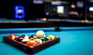 Fat Rack's Sports Bar: Full Day of Open Pool Play for Two or Four at Fat Rack's Sports Bar (63% Off)