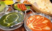 【最大60%OFF】スパイスたっぷりの本格インド料理とともに、異国情緒溢れるひとときを≪120分食べ飲み放題/5currysコース or...