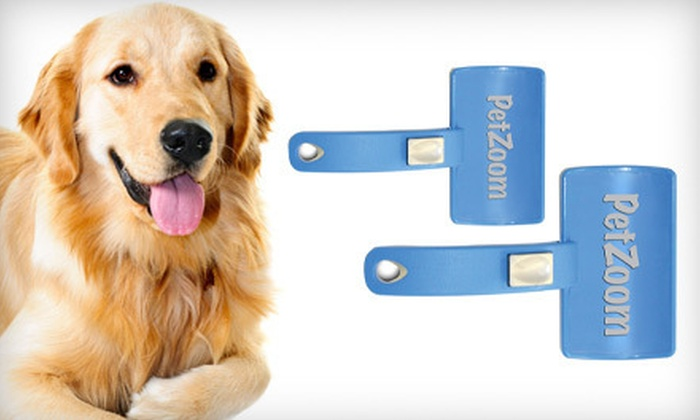 Two PetZoom Self-Cleaning Brushes: $6 for a Two-Pack of PetZoom Self-Cleaning Brushes ($29.98 List Price). Free Returns.