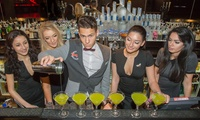 Festive Cocktail Masterclass for Party of 6 to 15 (in Multiples of 1,2 or 4s) at Players Bar