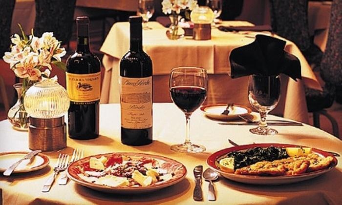 Piccolo Mondo Italian Restaurant - North Arlington: $25 for $50 Worth of Italian Fare at Piccolo Mondo Italian Restaurant in Arlington