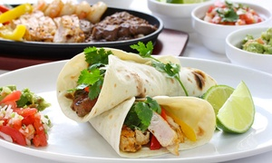 Salsa Mexican Restaurant: Up to AED 100 Toward Mexican Food with Soft Drinks at Salsa Mexican Restaurant, Dubai Marina