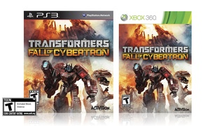 Transformers: Fall of Cybertron for PS3 or Xbox 360