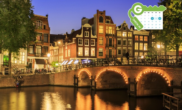 Hotel amsterdam city center 4 en msterdam groupon getaways for Amsterdam hotel centro