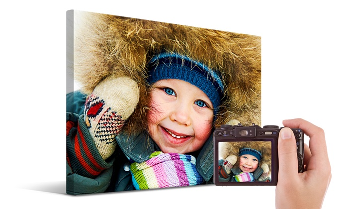 Printerpix: Custom Photo Canvases from Printerpix (Up to 90% Off). Five Options Available.