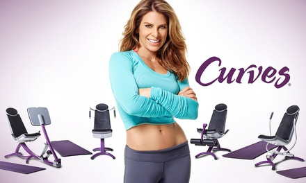 One-, Two-, or Three-Month Membership to Curves (Up to 53% Off)