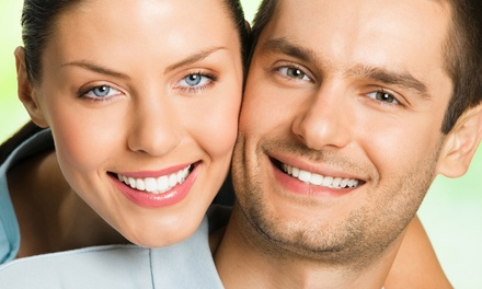 Dental Exam, Cleaning, and X-rays or Zoom! Teeth Whitening (Up to 60% Off)