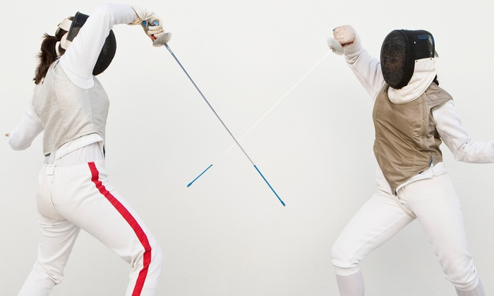 American Institute of Fencing - Red Bank: Four or Eight Private or Group Fencing Lessons at American Institute of Fencing (Up to 56% Off)