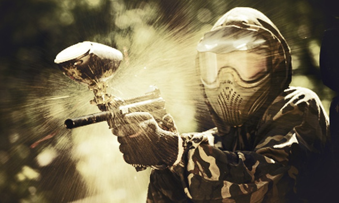 Adventures Unlimited - Ocoee: Half-Day of Paintball with Rental Equipment for Two, Four, or Six at Adventures Unlimited (50% Off)