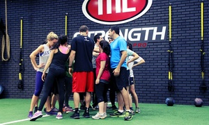 ML Strength: 10 or 20 Boot-Camp Classes at ML Strength (76% Off)