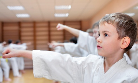 Four or Six Weeks of Martial Arts Classes at Master H C Kim's World Class Tae Kwon Do Center (Up to 78% Off)