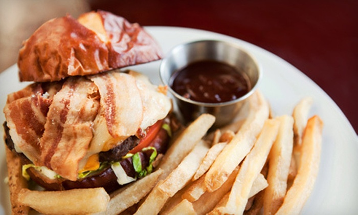 Ladder 133 Sports Bar & Grill - Smith Hill: Pub Fare and Drinks at Ladder 133 Sports Bar & Grill (Up to 56% Off). Two Options Available.