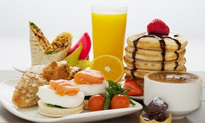 Sanabel-Sheraton Mall of the Emirates: Chocoholic Brunch with Soft or House Beverages for Two at Sanabel, 5* Sheraton (51% Off)
