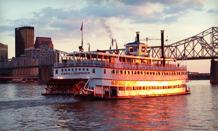 Belle of Louisville and Spirit of Jefferson - Central Business District: Cruise for Two, Four, or Six in July or August from Belle of Louisville and Spirit of Jefferson (Up to 54% Off)