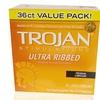 Trojan Stimulations Ultra Ribbed Condoms (36ct.)