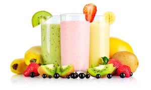 Mango Man: $13.50 for Three 32-Ounce All-Natural Smoothies from Mango Man ($21 Value)