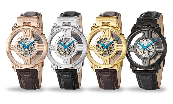 Stührling Original Skeleton Watches: Stührling Original Men's or Women's Skeleton Watches. Multiple Styles from $49.99—$79.99. Free Shipping and Returns.