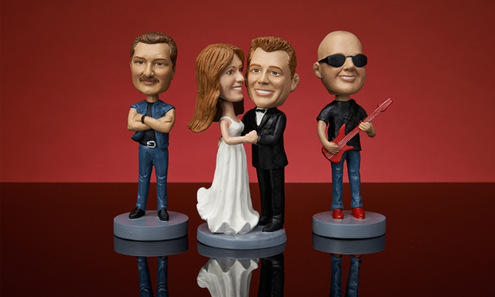 Custom Bobbleheads: Custom Bobbleheads from AllBobbleheads.com (Up to 47% Off). Multiple Designs Available.