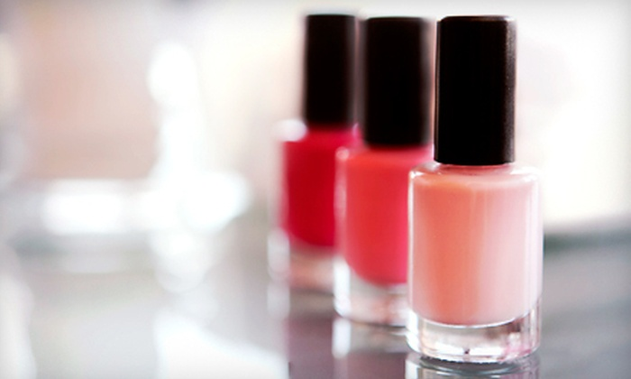 Esthetic Quick - Coral Gables: One or Two Spa Mani-Pedis at Esthetic Quick in Coral Gables (Up to 56% Off)