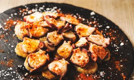 Menú para 2 o 4 personas con entrante, principal, postre y botella vino o bebida desde 24,95 € en Restaurante Casa Ureña