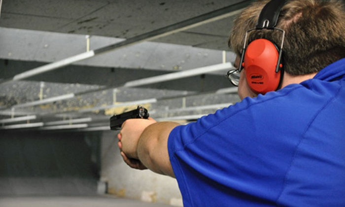 Range USA - Multiple Locations: Introduction to Handguns Class for One or Two with Up to One-Hour of Range Time at Range USA (Up to 55% Off)