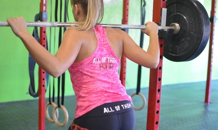 One Month of Unlimited CrossFit Classes at CrossFit Wild (Up to 90% Off)