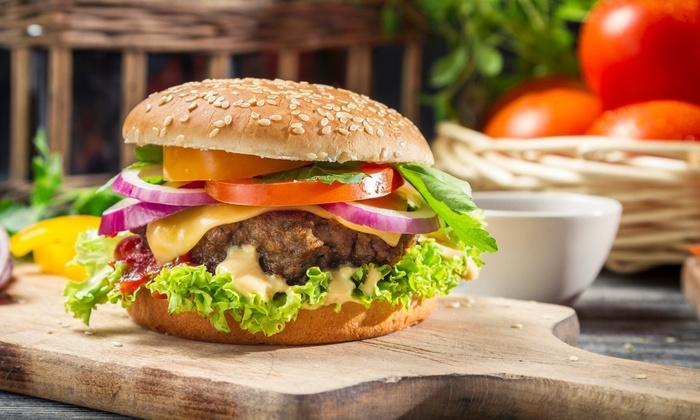Hamburger Mary's - St. Nicholas: $11 for $20 Worth of Burgers and Sandwiches at Hamburger Mary's