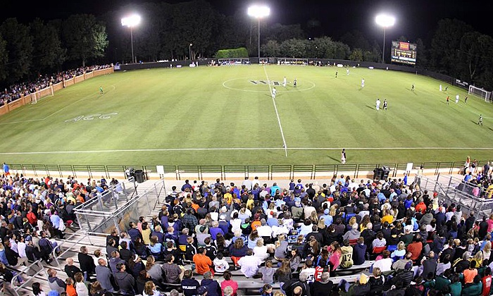 Wake Forest University  - Spry Soccer Stadium: Four-Day Soccer Camp with Dorm Stay and Meals for Girls at Wake Forest University ($500 Value)