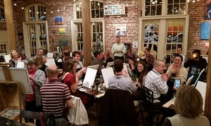 Up to 47% Off Paint and Sip Event at Studio Cellar  at Studio Cellar, plus 6.0% Cash Back from Ebates.